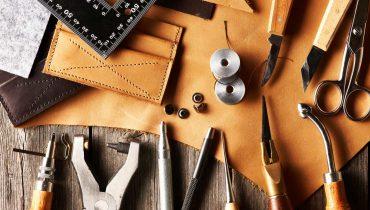 Học làm đồ da thủ công – thử thách sự kiên nhẫn và thỏa sức sáng tạo