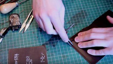 Hướng dẫn làm ví da nam handmade (P1)