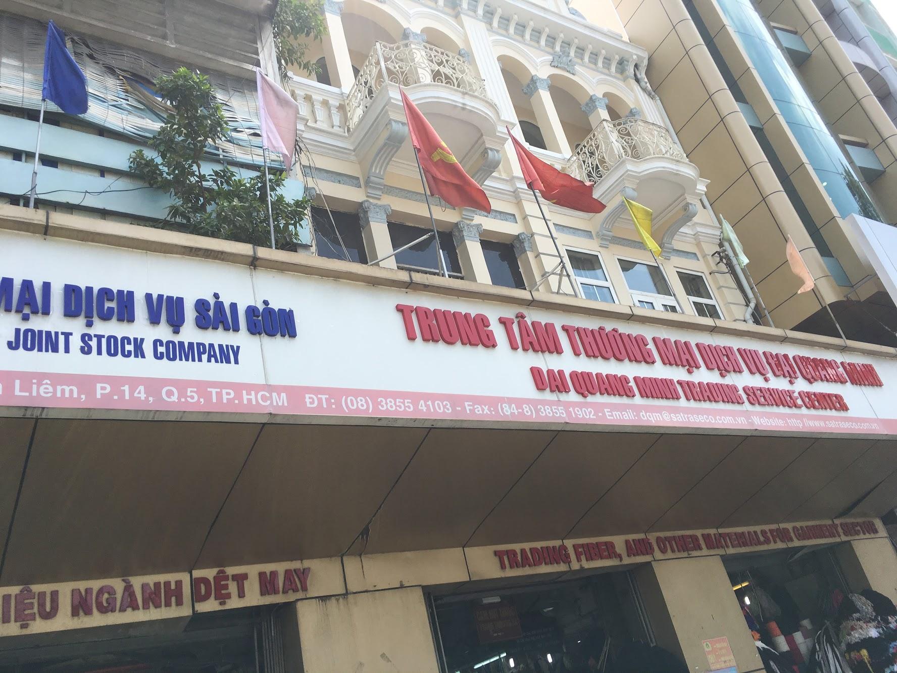 Mua phụ liệu handmade tại chợ Đại Quang Minh