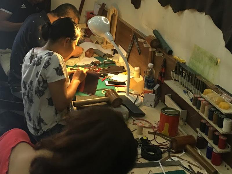 Địa chỉ cung cấp dụng cụ làm đồ da handmade uy tín