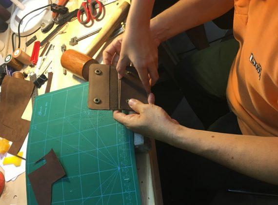 Cách làm túi xách da thật handmade