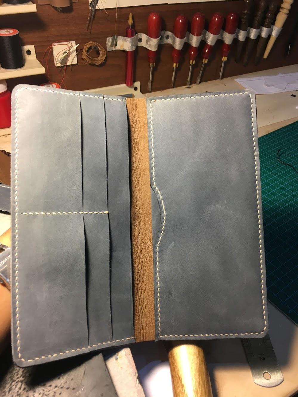 Hướng dẫn làm ví da nữ handmade