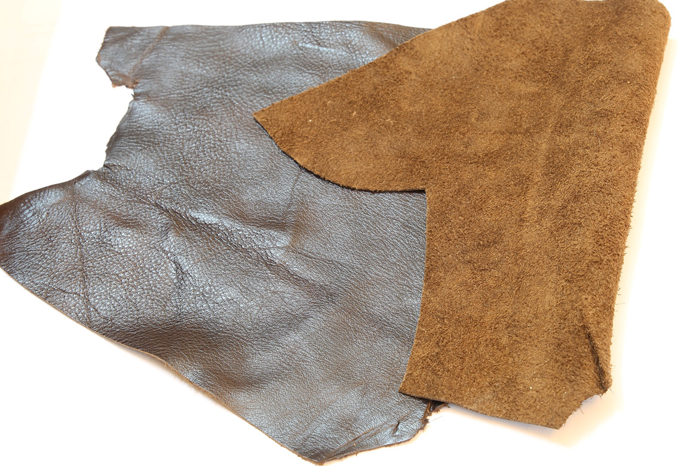 Da bò nguyên liệu để may áo da