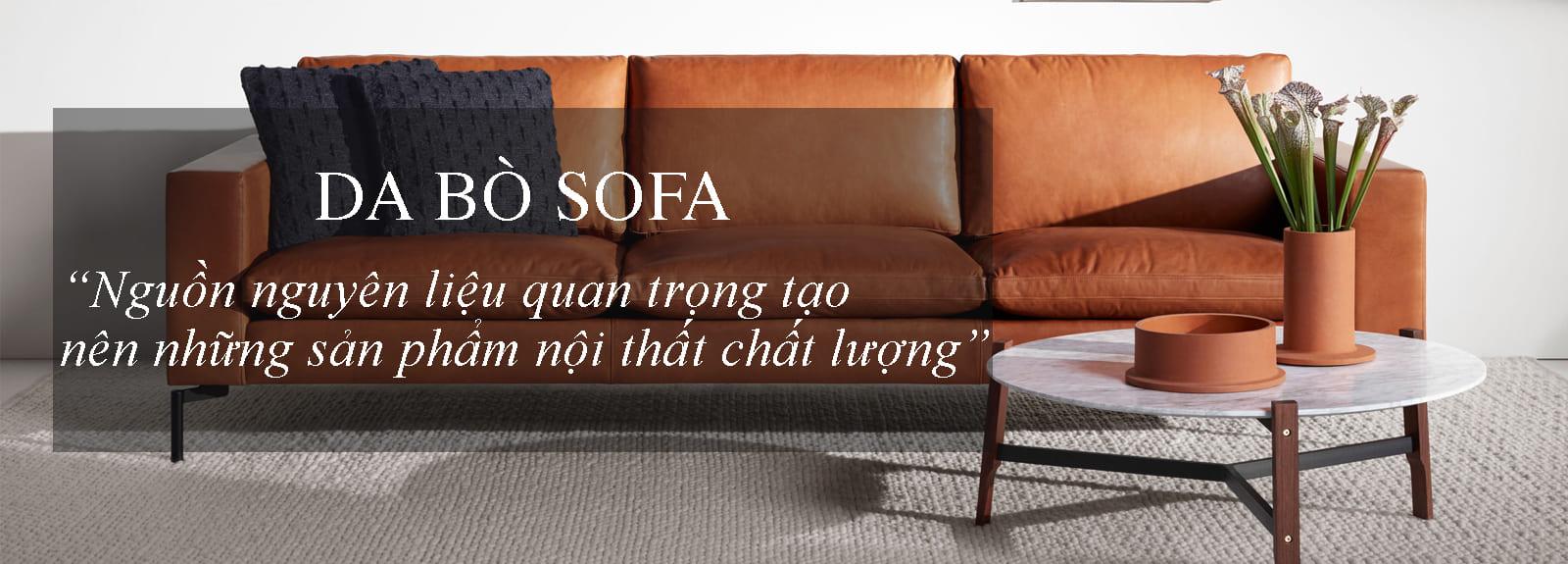 Da bò sofa nhập khẩu có đầy đủ chứng nhận CO, CQ