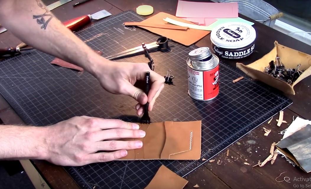 Làm đồ da Handmade cơ bản tại Hà Nội