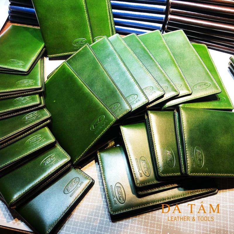 Đơn hàng sổ tay da thật notebook cover