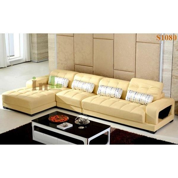 những mẫu sofa đẹp sử dụng da thật