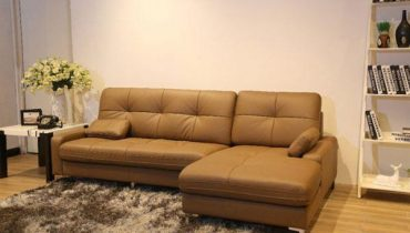 Mua da bò bọc ghế sofa ở đâu?