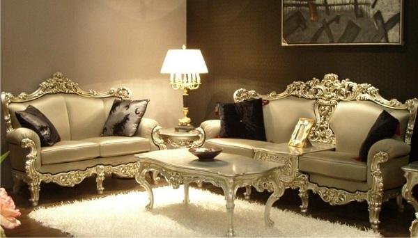 mẫu da thật bọc ghế sofa đẹp