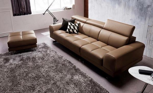 Ghế sofa da thật