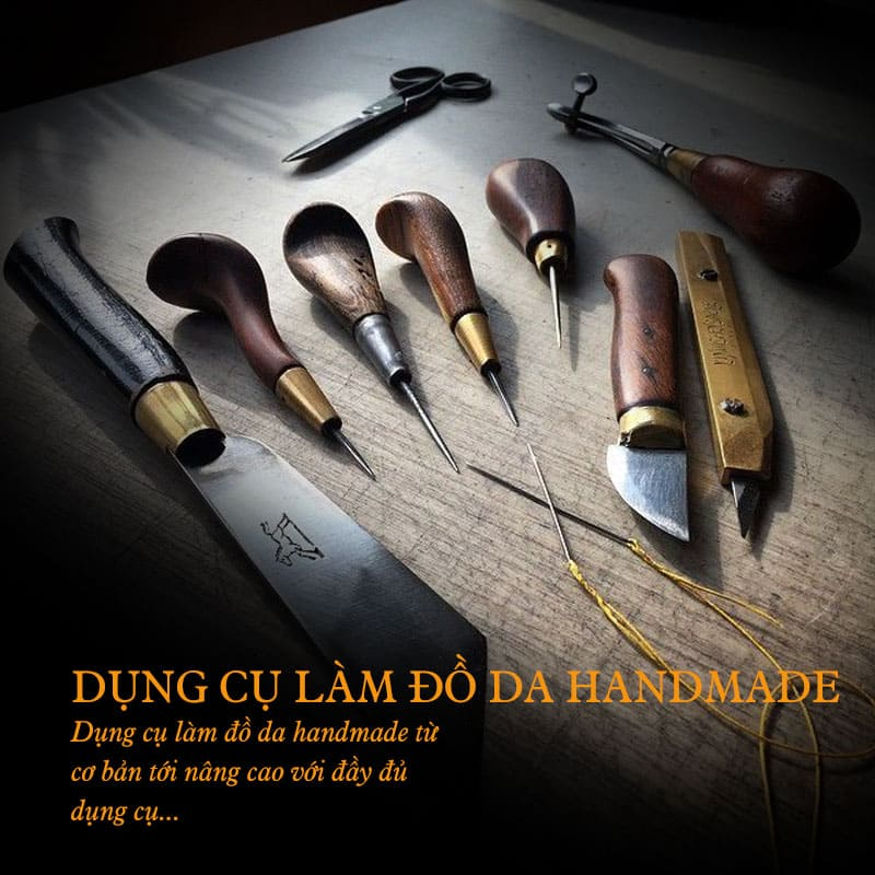 Dụng cụ làm đồ da chuyên nghiệp tại Hà Nội và TP Hồ Chí Minh