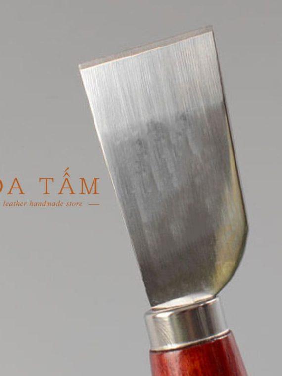 Dao cắt da chuôi gỗ