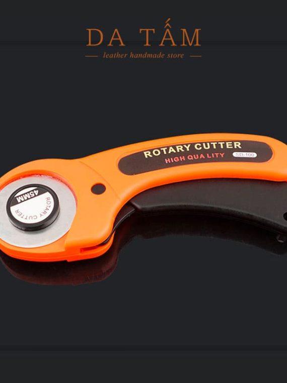 Dao cắt da thật bánh xe