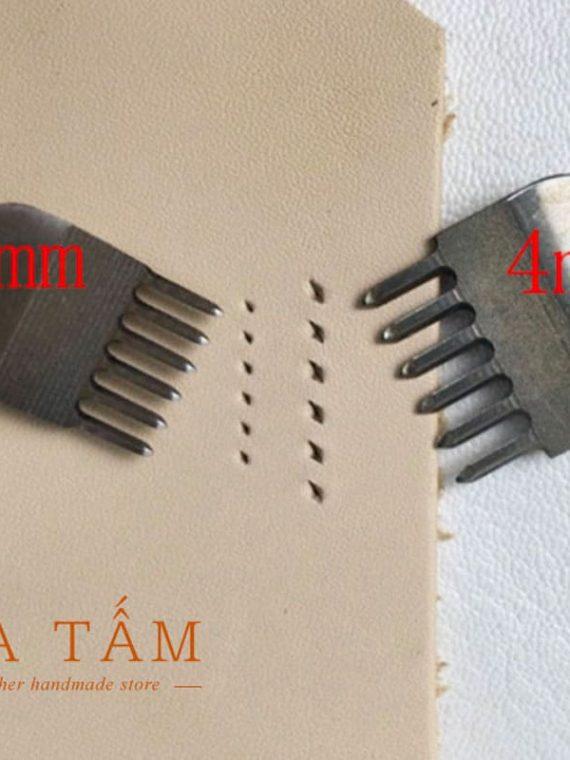 Bộ đục trám dụng cụ làm đồ da
