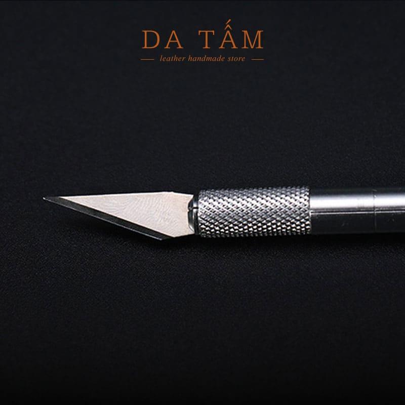 dao tỉa da và cắt da thật