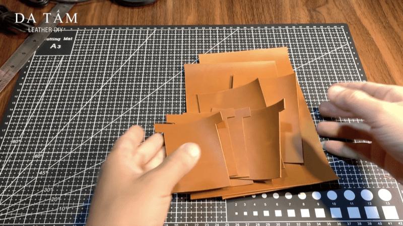 Học làm ví da handmade