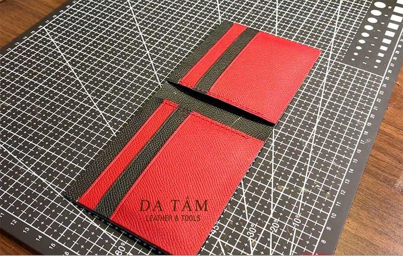 Hướng dẫn làm ví da handmade
