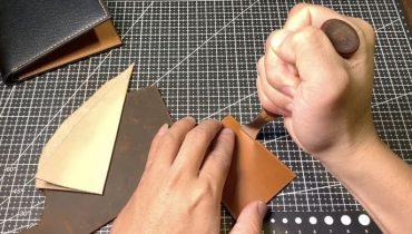 Hướng dẫn kỹ thuật ke viền sản phẩm da thật handmade