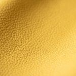 Da bò thật màu vàng hạt cao cấp