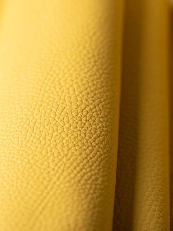 Mẫu da hạt màu vàng đẹp da bò