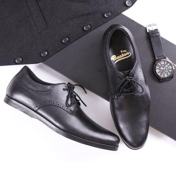 Giày da Pullub đen