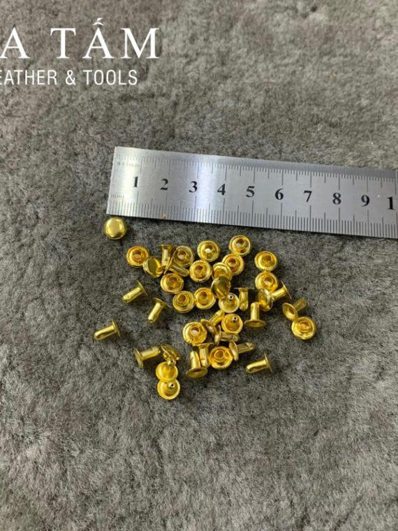 Đinh tán 8mm vàng