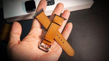 Hướng dẫn làm dây đồng hồ da handmade
