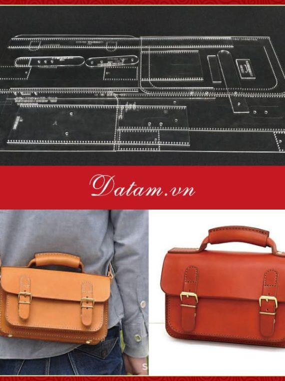 Bản rập thiết kế túi đeo chéo nam