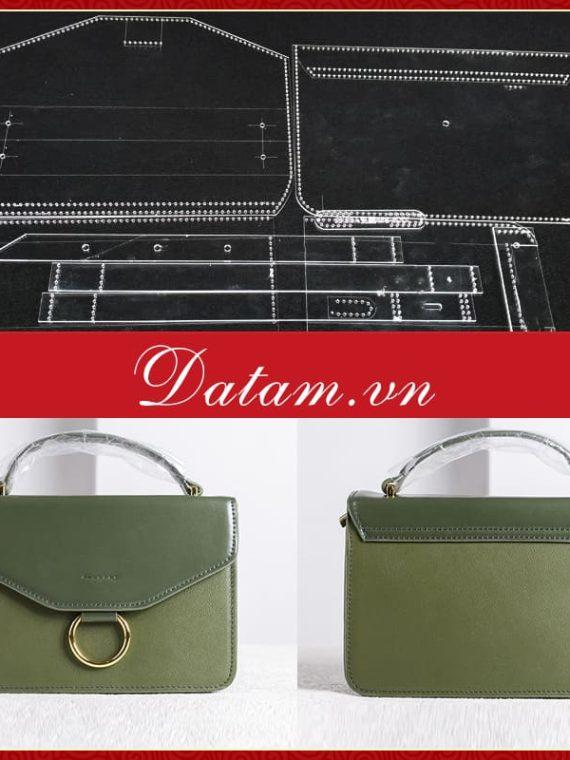 Bản rập thiết kế túi xách nữ sang trọng hiện đại