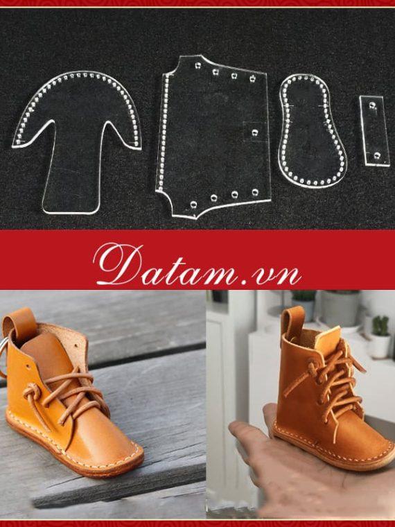 Bản rập mẫu móc khoá hình giày đẹp