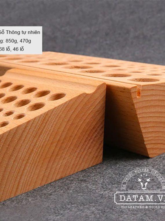 Giá để dụng cụ làm da handmade