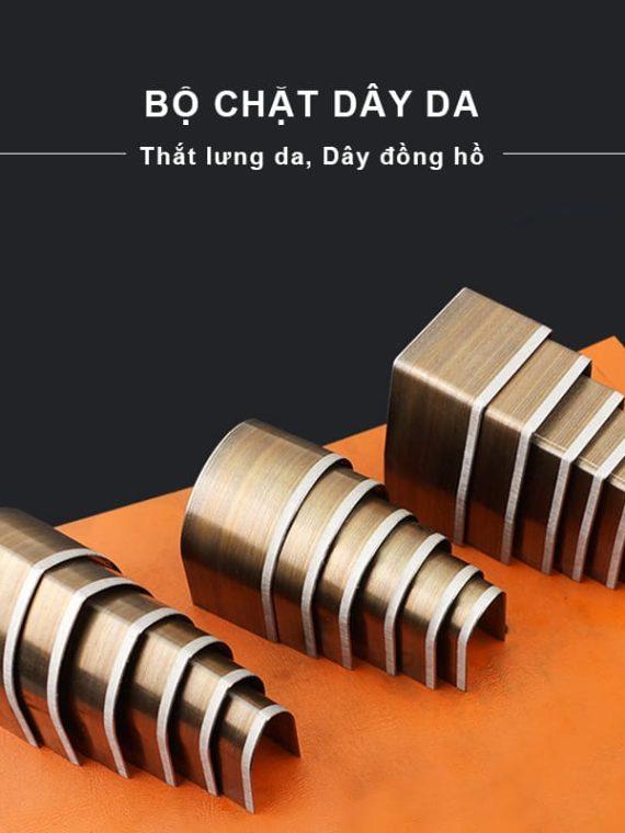 Bộ lưỡi chặt đầu dây thắt lưng da