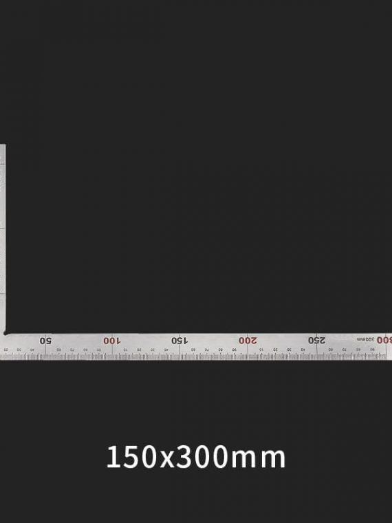 Thước vuông kim loại 30cm x 15cm