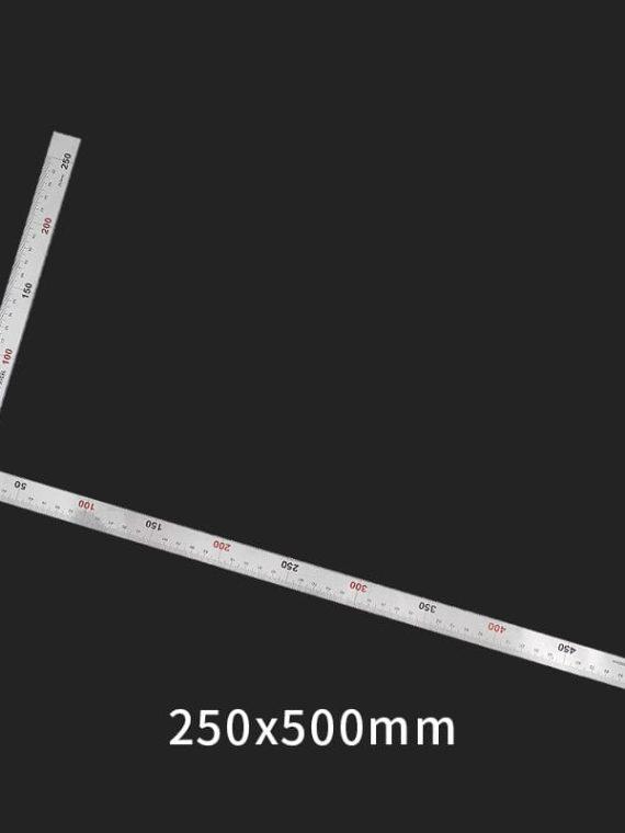 Thước kim loại vuông 50 x 25cm